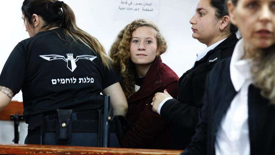 Comienza el juicio a Ahed Tamimi, cerrado a diplomáticos y prensa