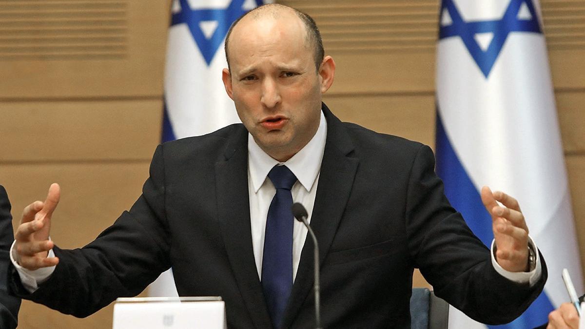 El primer ministro israelí, Naftali Bennett