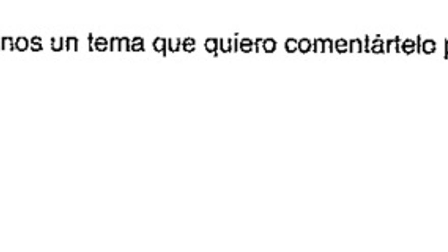 Firma de Iñaki Urdangarin en un correo electrónico