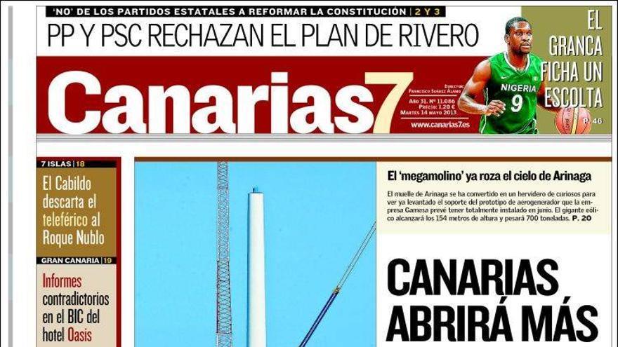 Las portadas del día (14/05/2013) #6
