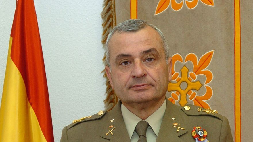 Fulgencio Coll cuando fue nombrado Jefe de Estado Mayor del Ejército de Tierra (JEME)