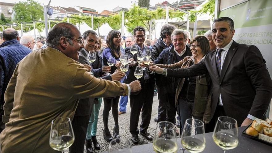 Ribadavia (Ourense) inaugura la 52 edición de la Feria del Vino del Ribeiro