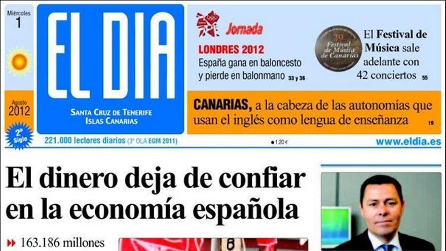 De las portadas del día (01/08/2012) #4