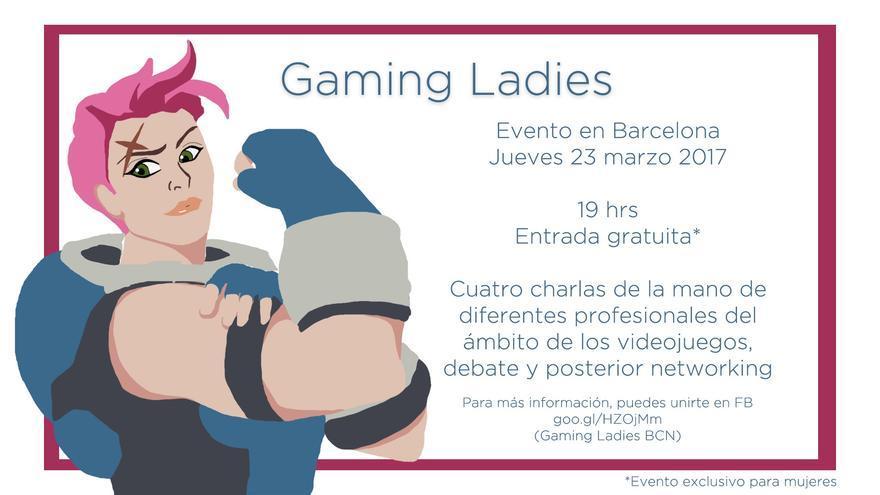 El cartel de la primera edición del Gaming Ladies