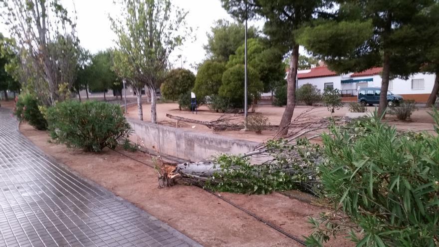 Tormenta en Villacañas (Toledo). 2/9/2014