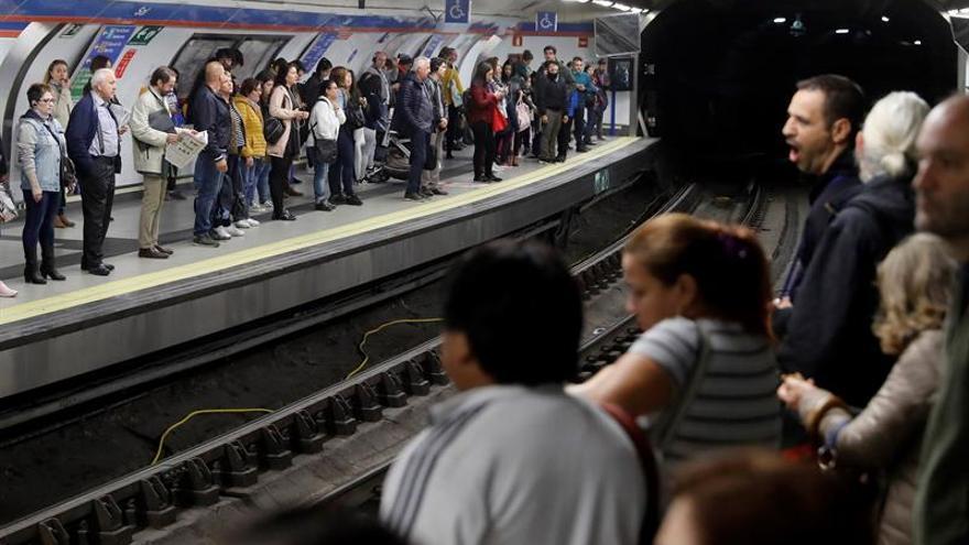 Madrid vive este viernes una nueva huelga de autobuses y de Metro