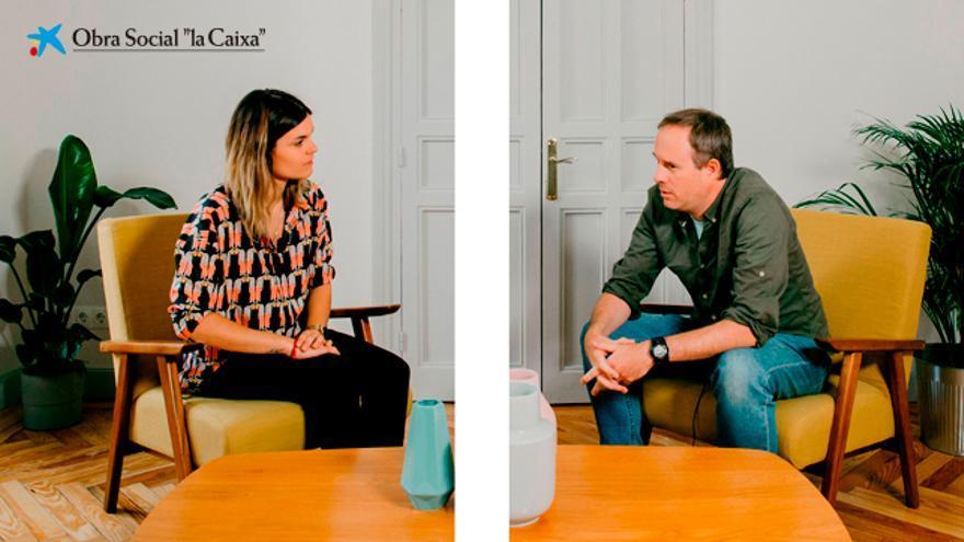 Elvira Sastre y Óscar Llorens.