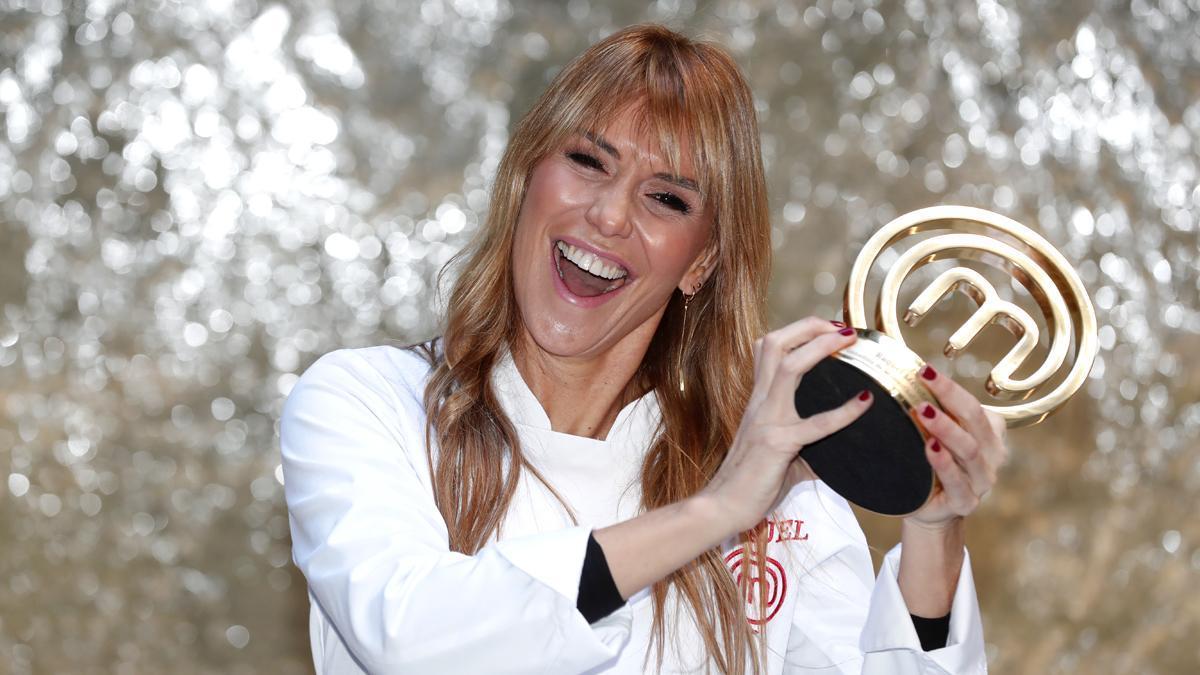 Raquel Meroño, al ganar 'MasterChef Celebrity 5'