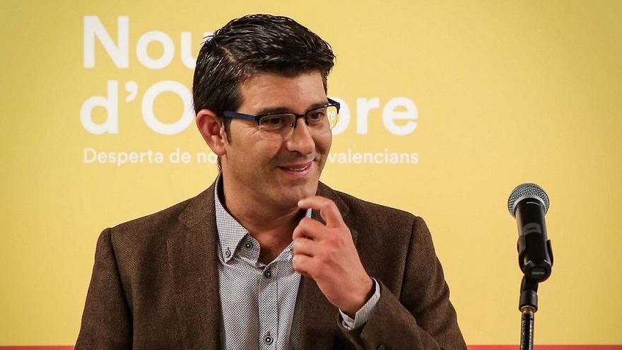 Jorge Rodríguez, durante la rueda de prensa