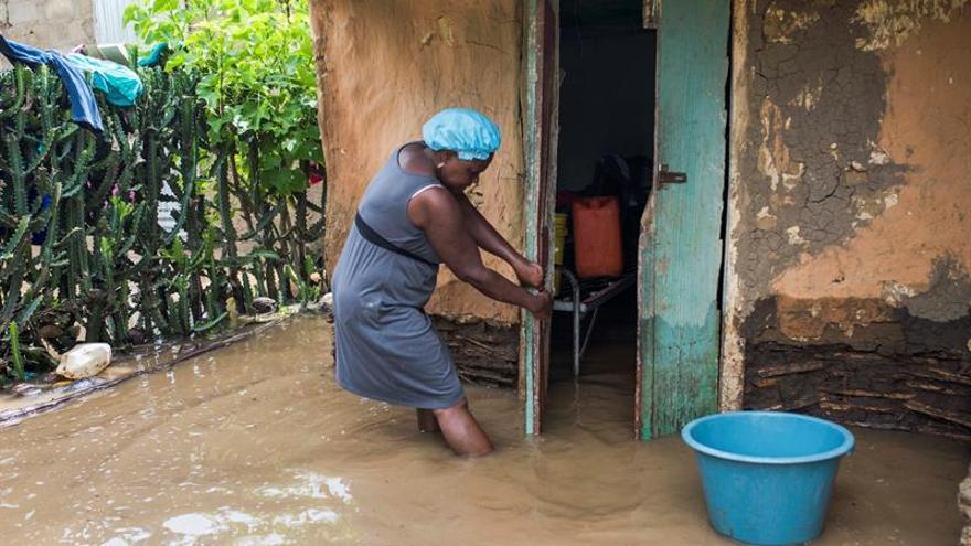 Miles de personas siguen en alojamientos temporales en Haití tras el paso del huracán Irma