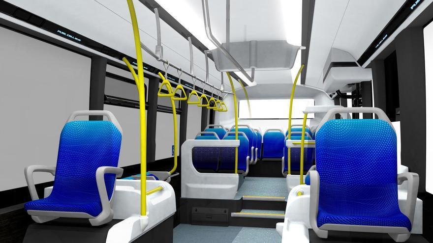 El autobús Toyota Sora tiene capacidad para 79 pasajeros.