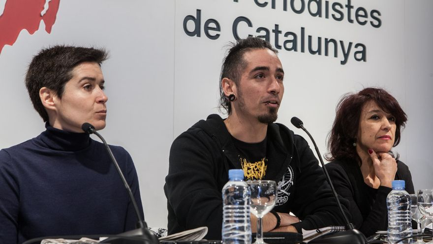 Silvia Villullo, Rodrigo Lanza y Mariana Huidobro. /ENRIC CATALÀ