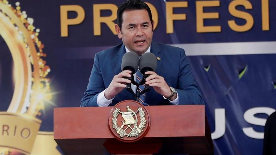 Un 76 por ciento de los guatemaltecos desaprueba la gestión de Jimmy Morales