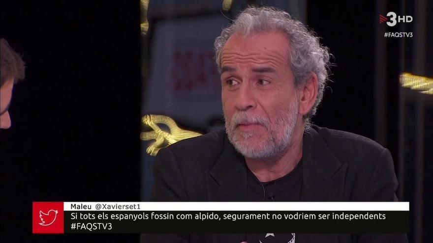 """Polémicas declaraciones de Willy Toledo en TV3 sobre """"asaltar el Palacio de la Zarzuela"""""""