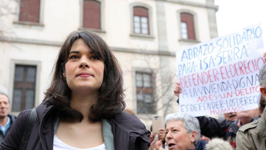 La portavoz de Unidas Podemos en la Asamblea de Madrid, Isa Serra.