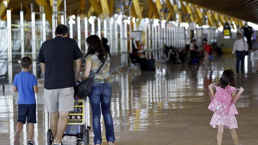 El tráfico aéreo crece un 5,3 % en enero hasta los 11,6 millones de pasajeros