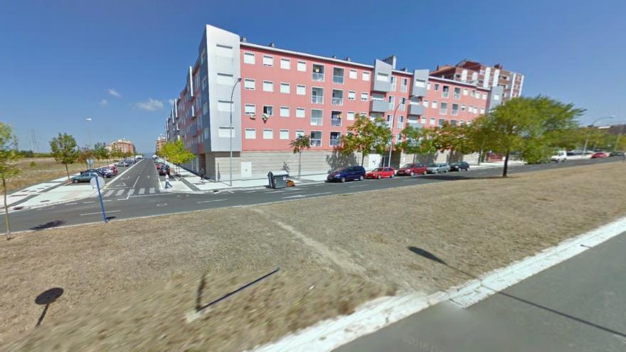 Cruce de las calles Sierra de Urbasa y Baiona de Vitoria