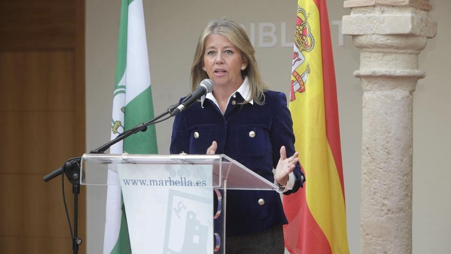 """La alcaldesa de Marbella valora su gestión y dice que el municipio """"es un turbo y necesita estar bien pilotado"""""""