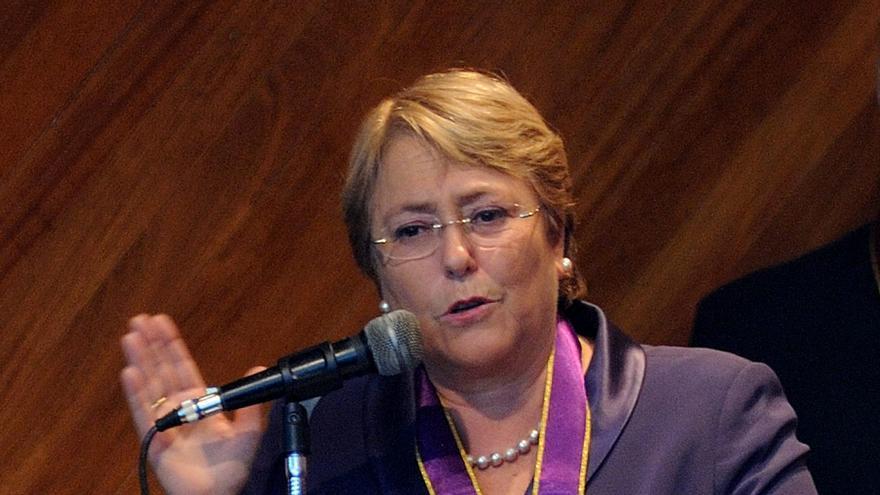Bachelet afirma que un país que crece tiene la capacidad de erradicar la pobreza