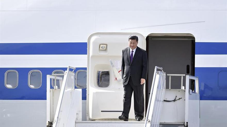 El presidente de China llega a Ecuador para una visita de Estado