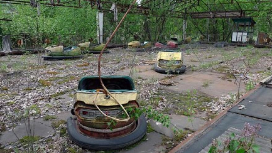 La ciudad de Pripyat, hoy