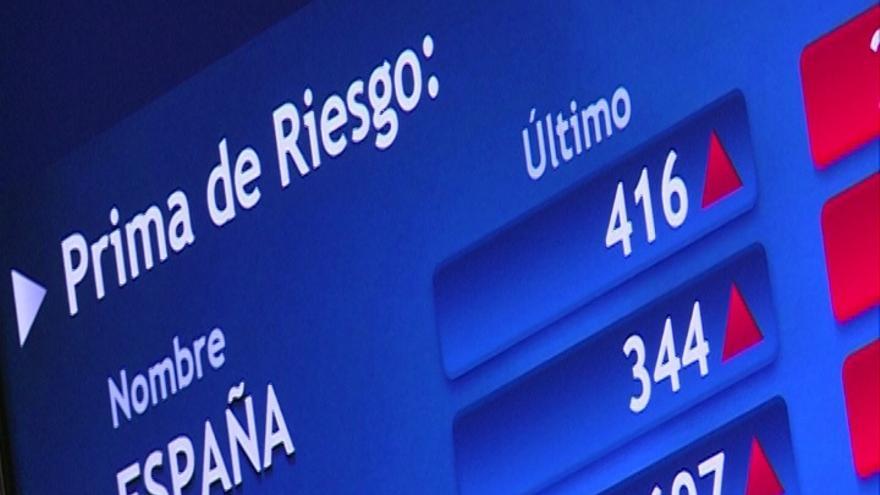 El Ibex cae un 1,63% y cede los 8.100 enteros arrastrado por la gran banca
