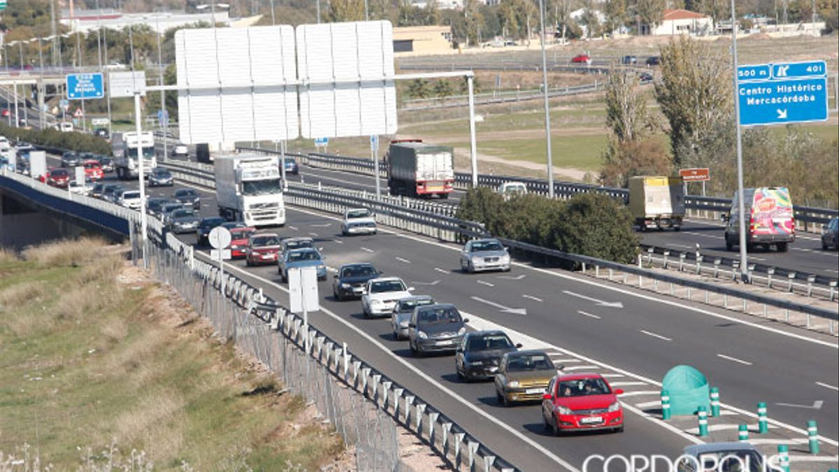 Imagen de archivo de retenciones en la autovía A-4