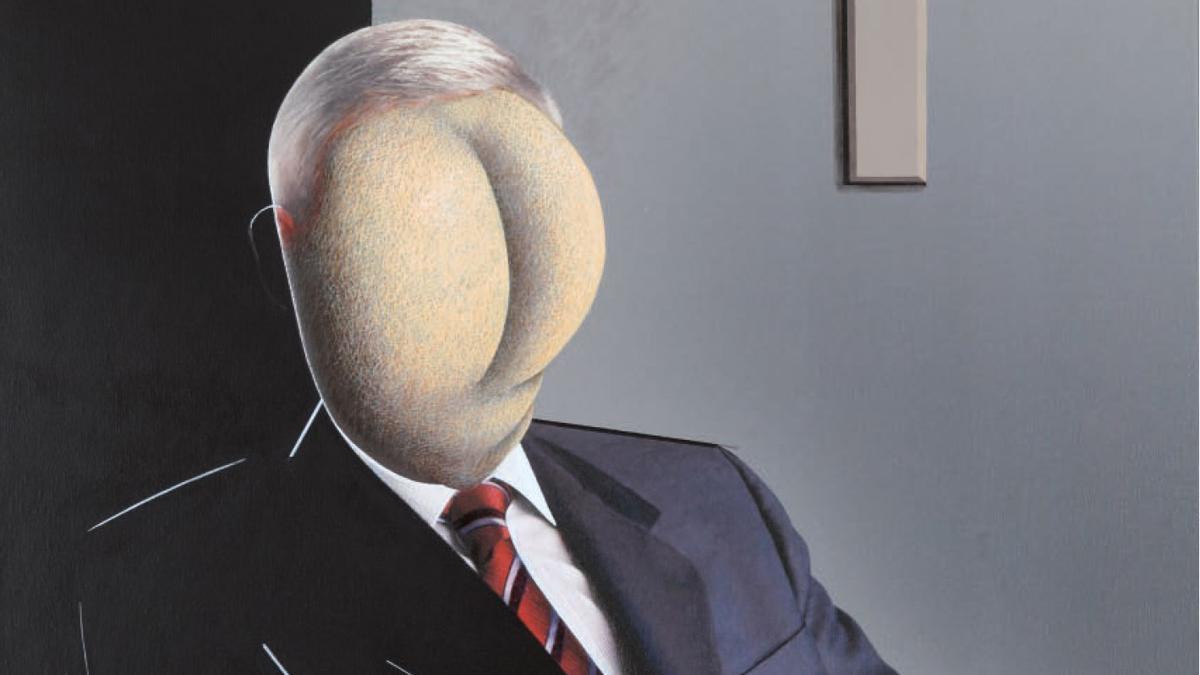 El oráculo de la economía global (detalle)- Jorge Ballester 2011