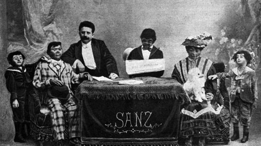 Sanz falleció al poco de guardar todos sus muñecos en un baúl para siempre