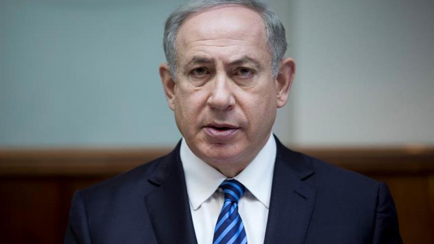 """Netanyahu cree """"estupendo"""" que Trump traslade la embajada de EEUU a Jerusalén"""