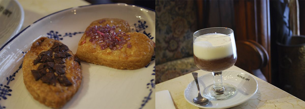 Díptico chocolate con nata y galletas_Malasaña a mordiscos_Café Ajenjo