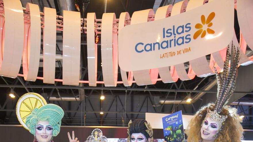 Drags y Reina del Carnaval de Las Palmas de Gran Canaria 2017 en Fitur 2018