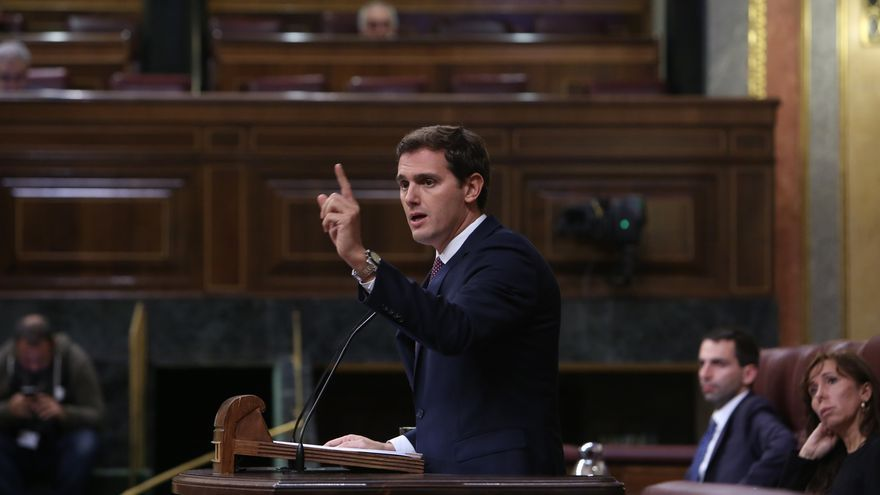 """Rivera critica la """"purga"""" de Edmundo Bal: """"Sánchez pone al Estado al servicio de golpistas para seguir en Moncloa"""""""