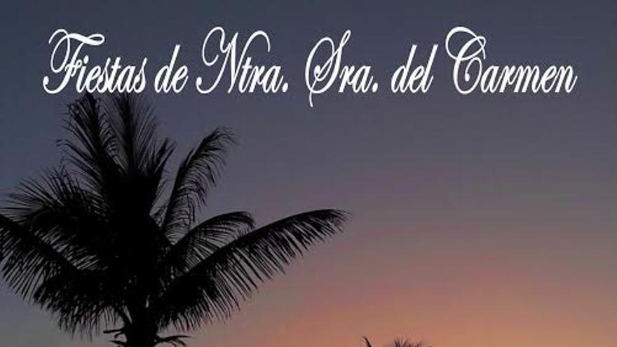 Cartel de las Fiestas del Carmen del Puerto de Tazacorte.