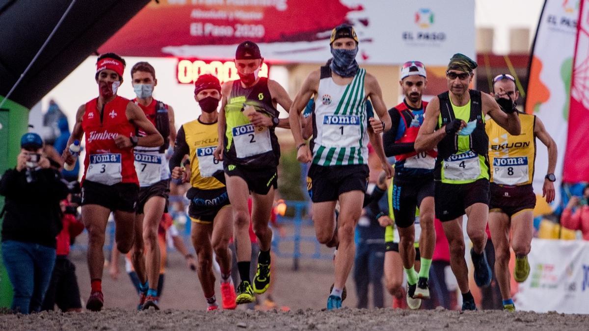 Campeonato de España de Atletismo celebrado en El Paso en 2020.