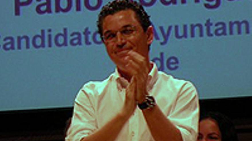 Pablo Rodríguez, líder de Coalición Canaria en Telde.