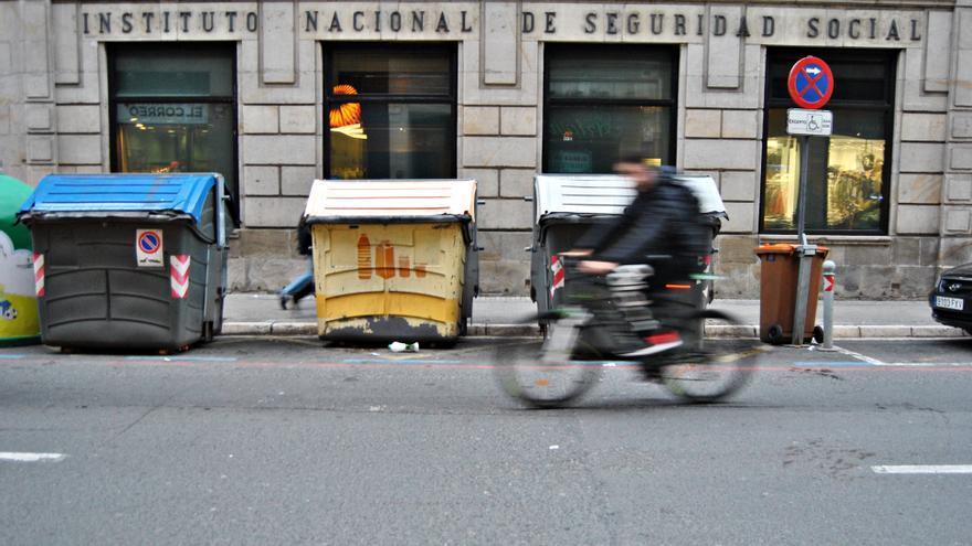 Vista de la sede del Instituto Nacional de la Seguridad Social en Vitoria