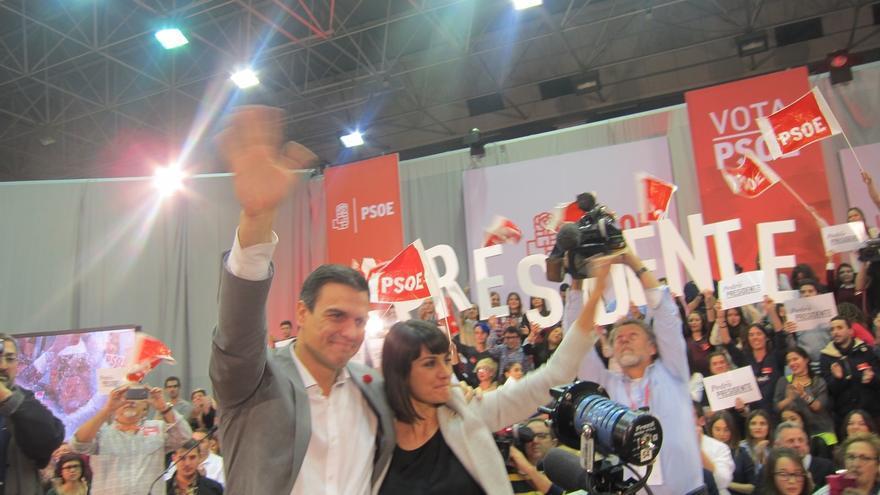 """Pedro Sánchez condena la agresión a Rajoy y le envía su """"solidaridad"""" desde Murcia"""