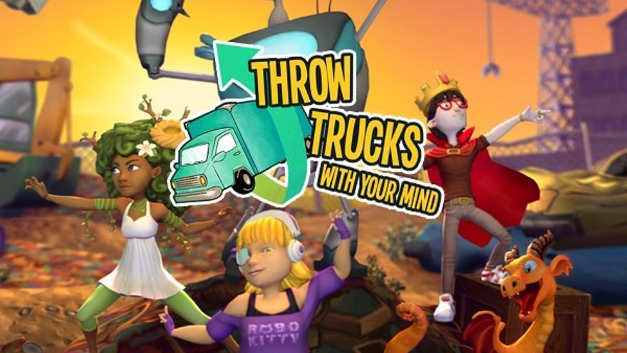 Este videojuego trata de derribar vehículos con el pensamiento