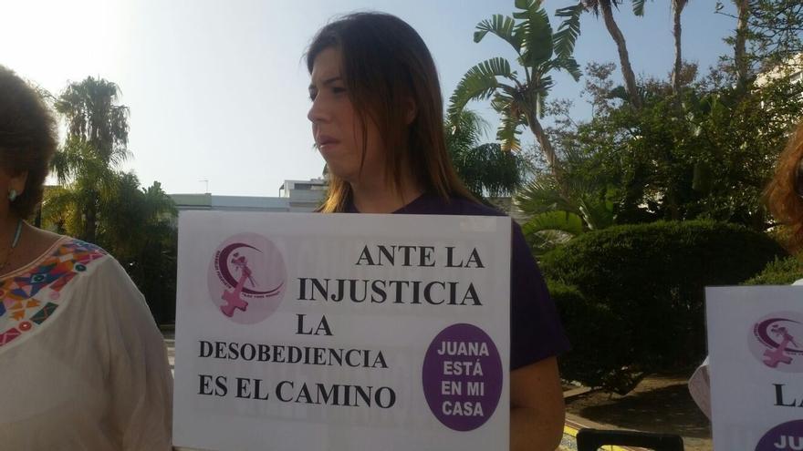 Justicia remitió el jueves a Italia la denuncia de Juana Rivas hace más de un año por presunto maltrato