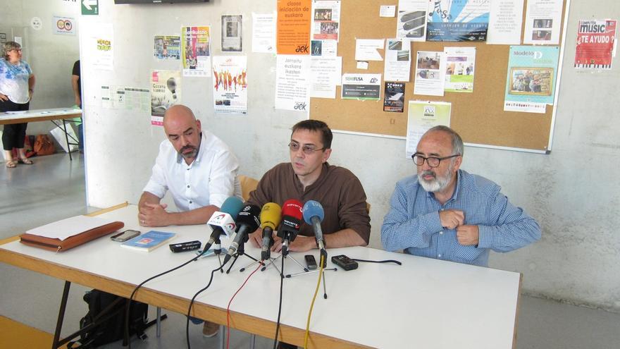 Monedero da a entender que Podemos no va a formar parte del Gobierno de Navarra