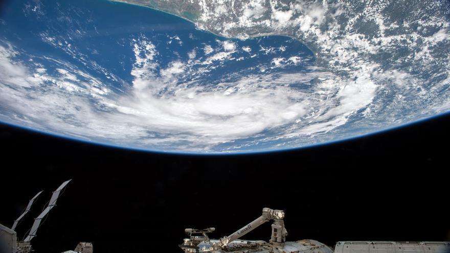 Imagen de la Tierra desde el espacio.