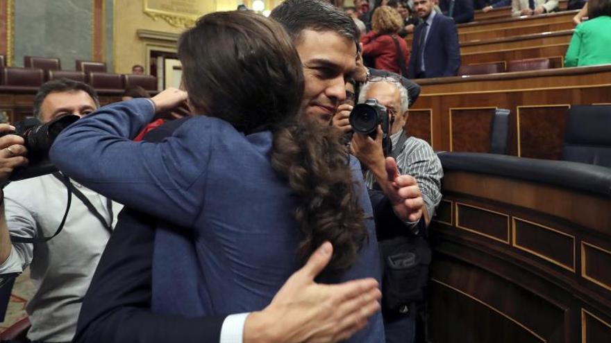 Podemos hace suyo el triunfo de Sánchez esperando entrar en su Gobierno