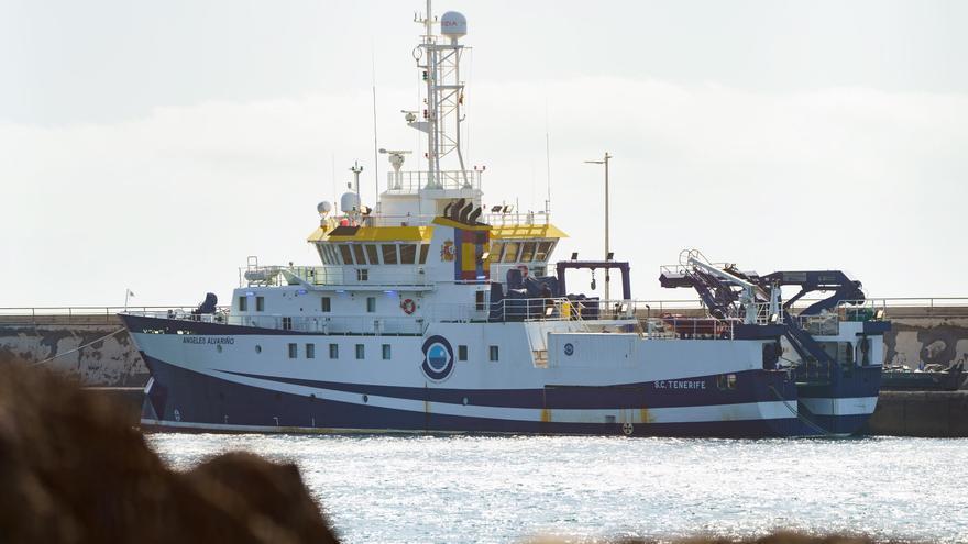 El buque que busca a Anna sigue en puerto y es poco probable que navegue hoy