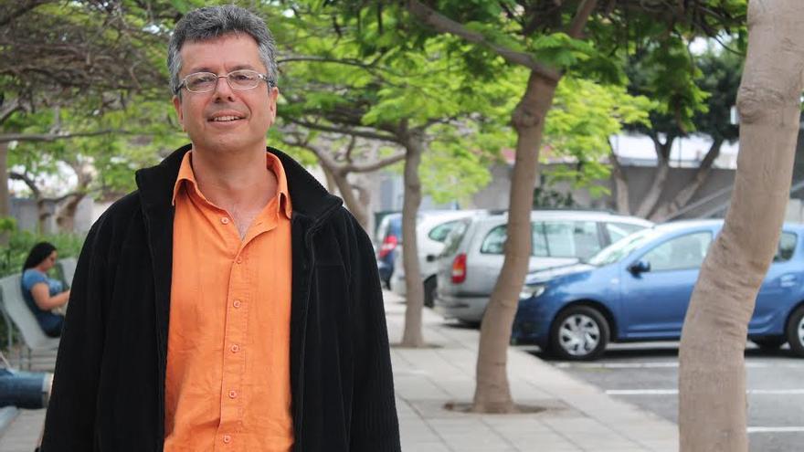 Germán Santana, coordinador de Izquierda Unida en Gran Canaria