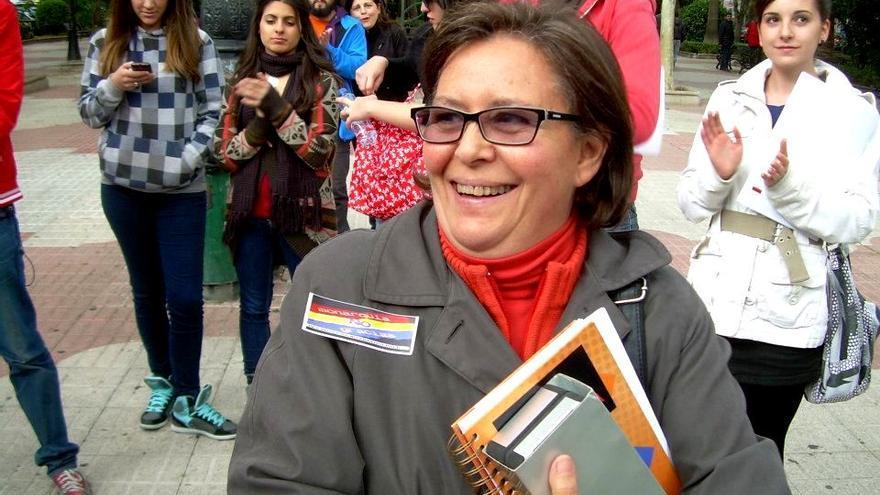 Margarita González-Jubete, portavoz de la corriente crítica 'La Mayoría'