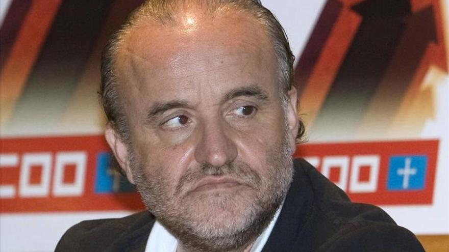 Toxo anuncia la dimisión de Rodolfo Benito por la tarjetas opacas de Caja Madrid