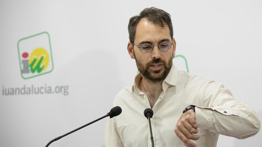 """Valero (IULV-CA) cree que la investidura será """"un sainete"""" hasta septiembre """"para que medien los poderes fácticos"""""""