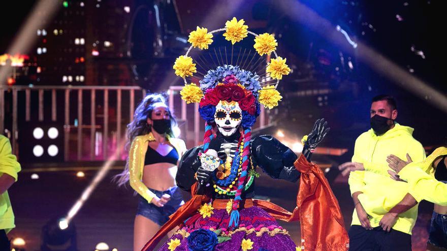 Catrina, en el escenario de 'Mask Singer'