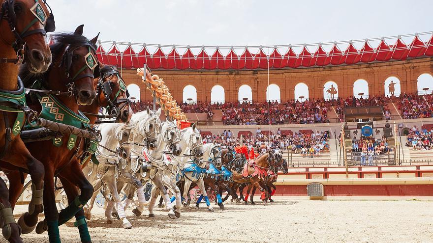 Espectáculo en Francia. En Toledo, los caballos serán grandes protagonistas del espectáculo nocturno